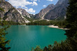 Lago di Braies, panorama