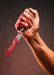 Bloody stabbing