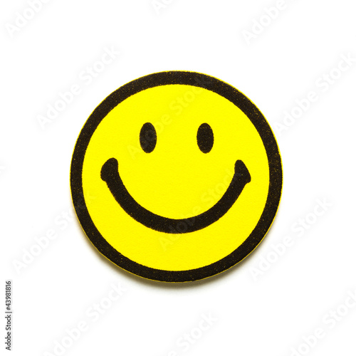 Yellow smiley symbol