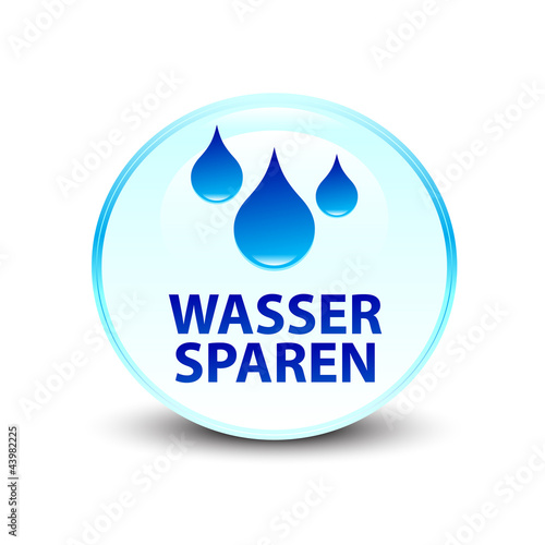 wasser sparen by maksi royalty free vectors 43982225 on. Black Bedroom Furniture Sets. Home Design Ideas