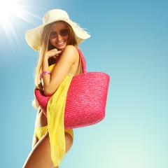 Summer vacation woman