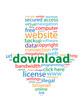 DOWNLOAD tag cloud (internet web button free piracy)