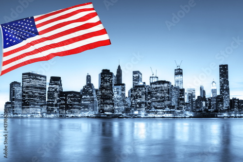 Fototapeten,york,new york,nacht,manhattan