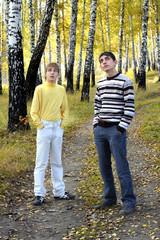 teenage boys outdoor