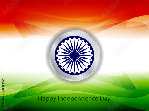 Creative background for Independence Day.