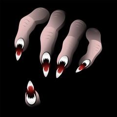 Scary Hand from Halloween Nightmare-Vector