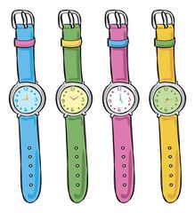 wristwatch doodle