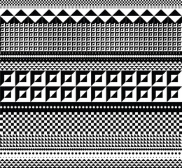 Geometric pattern. Vector illustration