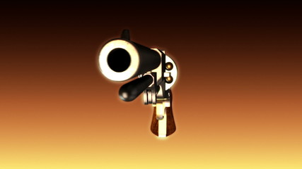 Old Revolver Background - Revolver 03 (HD)