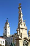 Historisches Gebäude in Pecs poster