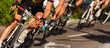 Leinwanddruck Bild - Radrennen