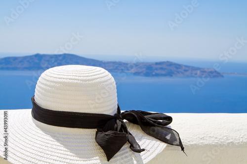 Summer Hat in the Sun