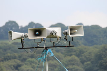 Outside broadcast speakers