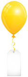Yellow Balloon & Label