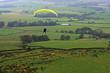 paraglider over lancashire