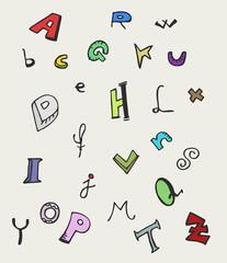 Creative school letters