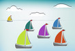 Colorful sailboats_b
