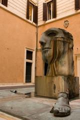 Statua in metallo 2