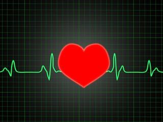 ECG showing Love