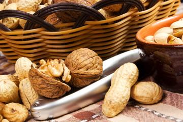 noci, arachidi, pistacchio