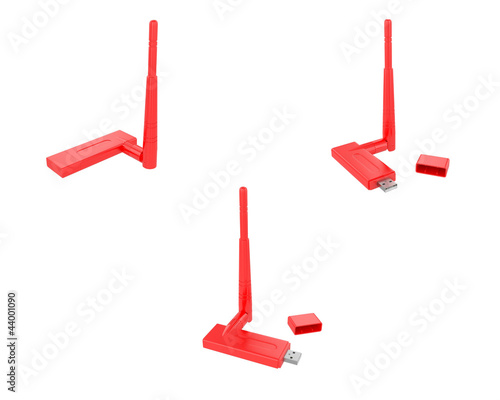 USB wireless adapter(red)