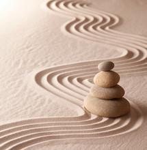 jardin de méditation zen