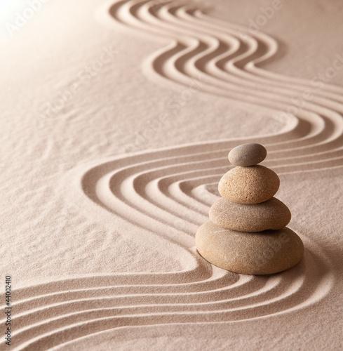 zen meditation garden - 44002410