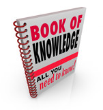 Book of Knowledge Learn Expertise Wisdom Intelligence poster