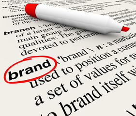 Brand Definition Word Dictionary Marketing Awareness