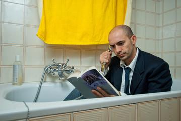 Telefonata in bagno