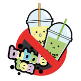 Bubble Tea Warning