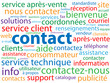 "Nuage de Tags ""CONTACT"" (service clients marketing coordonnées)"