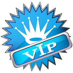 button labeled VIP
