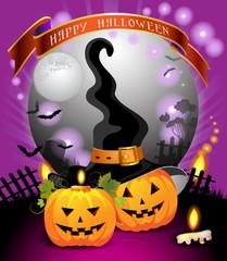 Halloween card design