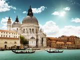 Grand Canal and Basilica Santa Maria della Salute, Venice, Italy - Fine Art prints