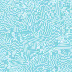 Seamless abstract blue background. Vector illustration
