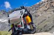 sac à dos,randonnée en montagne dans les alpes