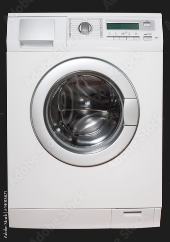 Washing machine front