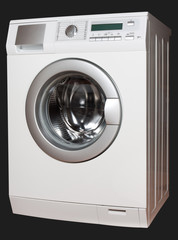 Washing machine from right