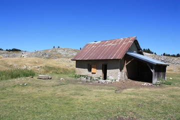 cabane, Vercors