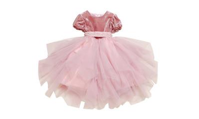 Детское нарядное платье с пышной юбкой.