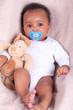 newborn baby african american