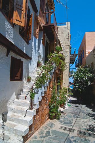 Narrow street. Chania.
