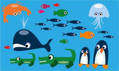 animaux marin