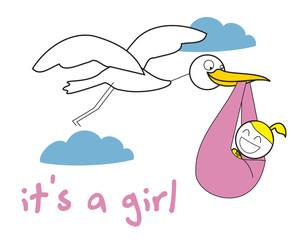 crane baby girl