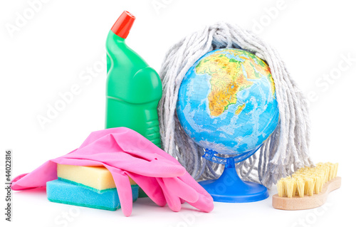 cleaning the world