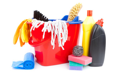 home cleaning supplies