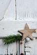 Weihnachten Holz Stern Gutschein