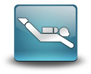 """Light Blue 3D Effect Icon """"Scuba Diving"""""""