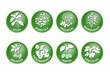 Kräuter Vektor Buttons